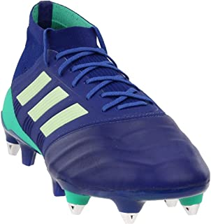 adidas Mens Predator 18.1 Soft Ground Leather Soccer Athletic Cleats,