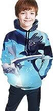 DANIELLE THOMSON How to Train Your Dragon Fun Teen Hooded Sweate Black Comfortable Classic Boy Girl