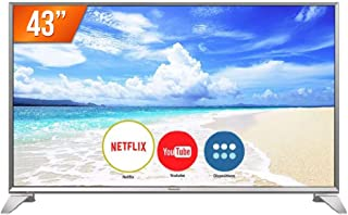 "Smart TV LED 43"" Panasonic TC-43FS630B Full HD com Wi-Fi, 2 USB, 3 HDMI, Hexa Chroma Drive e My Home Screen 3.0"