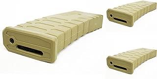 Airsoft Shooting Gear APS 3pcs Hi-Cap U Mag Magazine for FMR/ASR/UAR/M-Series AEG Brown Tan