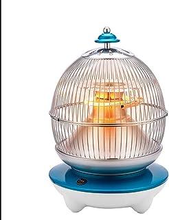 NAUY@ Calentador doméstico, Calentador eléctrico, radiador - Exterior de la Jaula de pájaros - Calentamiento de Fibra de Carbono - Ahorro de energía, Poca luz - Azul Riscaldatori di spazio