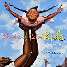 Shades of Color 2020 African American Calendar, Shades of Color Kids, 12 by 12 Inches (20SK)