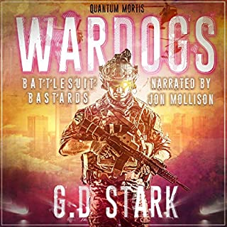 Battlesuit Bastards audiobook cover art