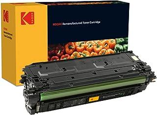 Kodak Supplies 185H136001 碳粉 6000 页 黑色 适用于 Hewlett Packard CLJM552 兼容 CF360A/508A