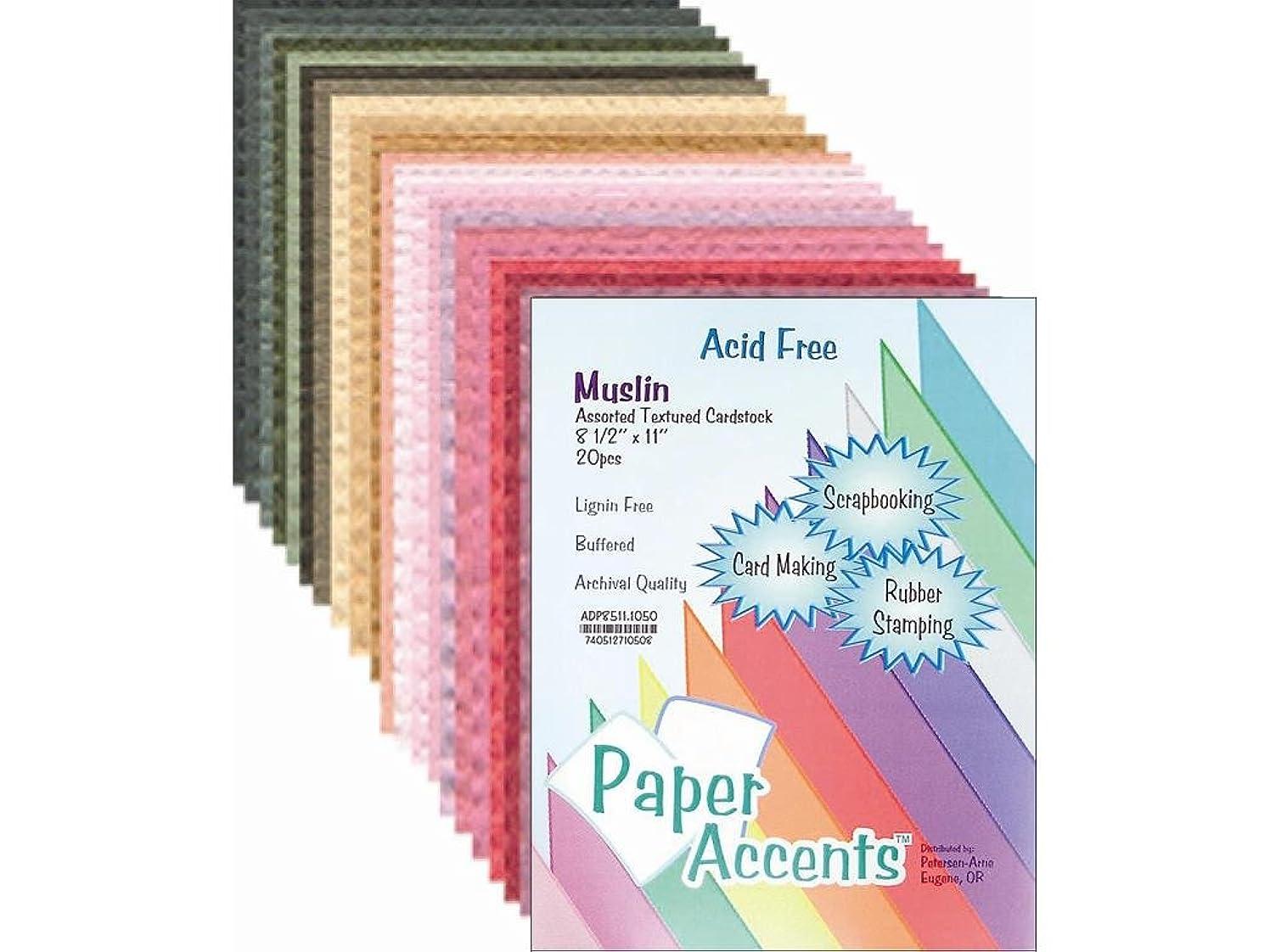 Accent Design Paper Accents ADPaperVarietyPk851120Assorted VarietyPk851120AstMu