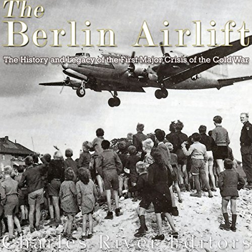 The Berlin Airlift audiobook cover art