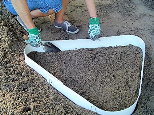 Stepping Stone Walk Maker Mold Concrete Form Reusable Garden Paths Patios Walkways
