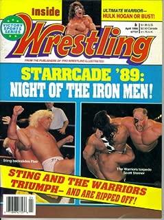 Inside Wrestling Magazine : Starrcade '89 - Night of the Iron Men (April 1990)