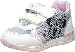 Geox B Rishon Girl C, Sneakers Basses Fille