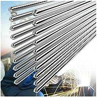 10 PCS 2.0MM 50CM Alambre de Soldadura de Aluminio de Baja Temperatura Convencional Durable Al Soldering Rod No Necesita Polvo de Soldadura