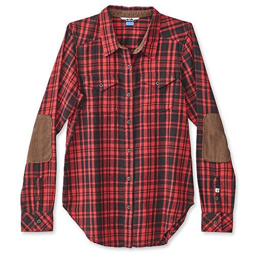 KAVU Billie Jean Womens Shirt - Fireside - Medium