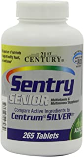 21st Century COMPARE TO CENTRUM SILVER ® 265 TABS