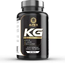 Apex Fuel KG High Strength Fat Burning Pills Weight Loss and Boost Metabolism Enhance Performance and Support Weight Loss Estimated Price : £ 7,99
