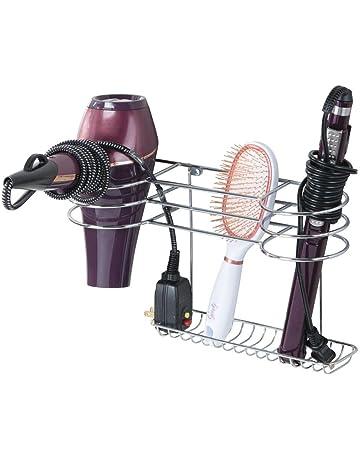 WJLHJT Secador de pelo soporte de pared Mounte no profundizar ventosa Secador de pelo sostenedor for la cuerda puede bloquear la cabeza puede enrollarse alrededor WJLHJT Color : Gray