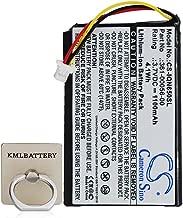 KML Battery for Garmin 361-00056-01 Nuvi 65 Nuvi 65LM (3.70V,1100mAh,Li-ion)