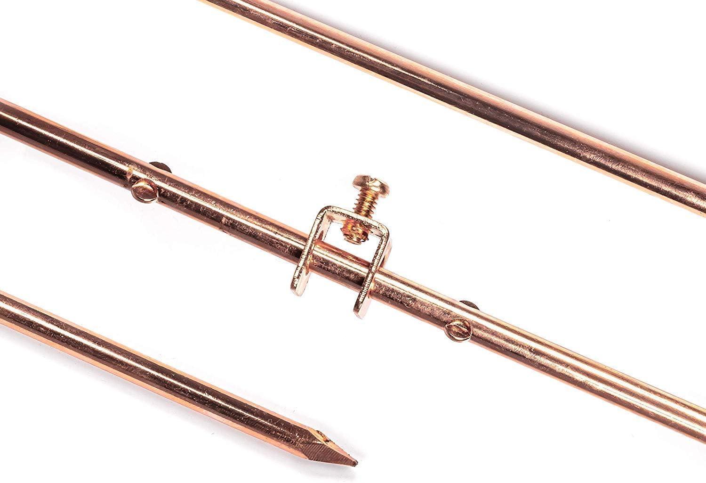 4ft Copper Grounding Rod - 3 Includes Cheap SALE Start Diameter 8