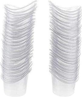 PPX 50 Pièces Jetable Plastique Lavage oculaire soulager la douleur de nettoyage œil de bain Tasse 5 ml pour le stockage o...