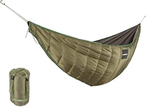 Packable Full Length Under Blanket for Ground Camping Backpacking 0℃-15℃ Camping Quilt SM SunniMix Hammock Underquilt Cotton Sleeping Bag