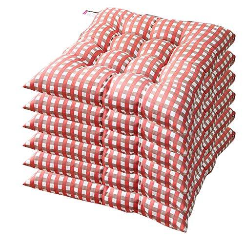 AGDLLYD - Cojines de silla acolchados, suaves, para la cocina o el jardín, disponibles en muchos colores, 40x407cm