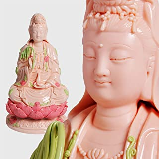 Guan Yin Statue, Quan Yin Statue, Kwan Yin Statue, Kuan Yin Statue, Zen Statue, Zen Meditation Statue, Zen Meditating Statue, 观音, 観音, 觀音, Best Chinese Feng Shui Gifts. (14 Inches Top Ceramic Guanyin)
