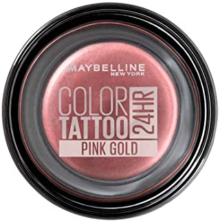Maybelline New York Tattoo 24H Sombra de Ojos, Tono: nº65 Pink Gold