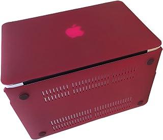 MacBook Air Pro Pro Retina カバー 11 12 13 15インチ MacBook Retina Mac Book カバー ハードケース ディスプレイ 対応 マット加工 ハード シェル マックブック ケース (MacBook Air 11インチ, レッド)