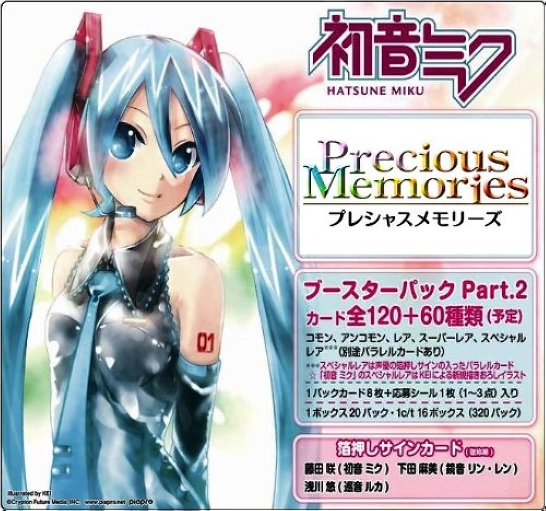 Precious Memories Hatsune Miku Booster Pack Part.2 BOX (japan import)