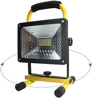 50w 36 led portable rechargeable flood light