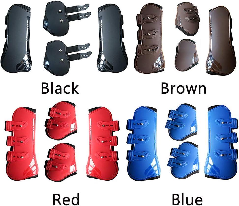 Neopren-Stiefel verstellbar 4 St/ück nicht null Guer Springgamaschen und Streichkappen braun Large leicht