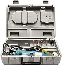 Kit Micro Mini Retifica Furadeira Politriz E Lixadeira Tipo Dremel Completa 40Pcs 250W Com Eixo Flexivel E Maleta 127V