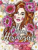 Chicas Hermosas - Libro de colorear para Adultos: Más de 50 retratos y escenas de bellas mujeres con...