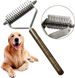 OneBarleycorn - Pet Cepillo Perros y Gatos, Cepillo para Perros o Gatos de Pelo Largo