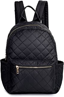 quilted travel backpack