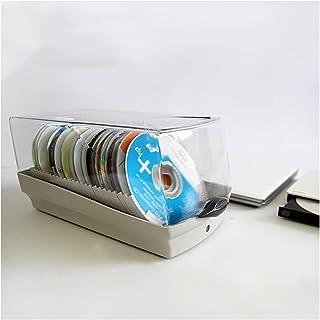 Nai-storage Gran Capacidad de Almacenamiento de álbumes de música Caja de CD, Paquete de CD Rack de Discos con Capacidad p...