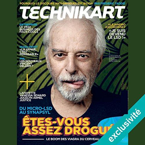Couverture de Technikart : numéro d'octobre 2016