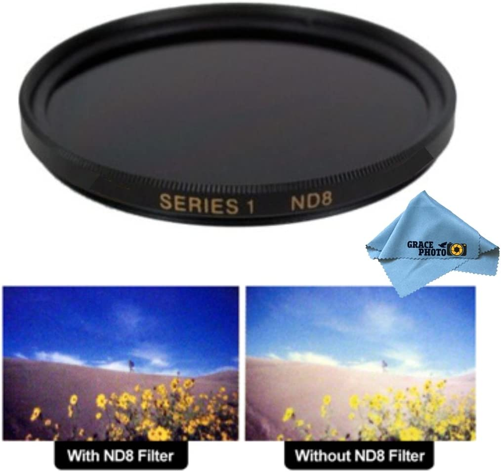 58mm ND8 Multi-Coated Neutral Density Evolt E Milwaukee Mall Olympus Challenge the lowest price of Japan ☆ Filter for