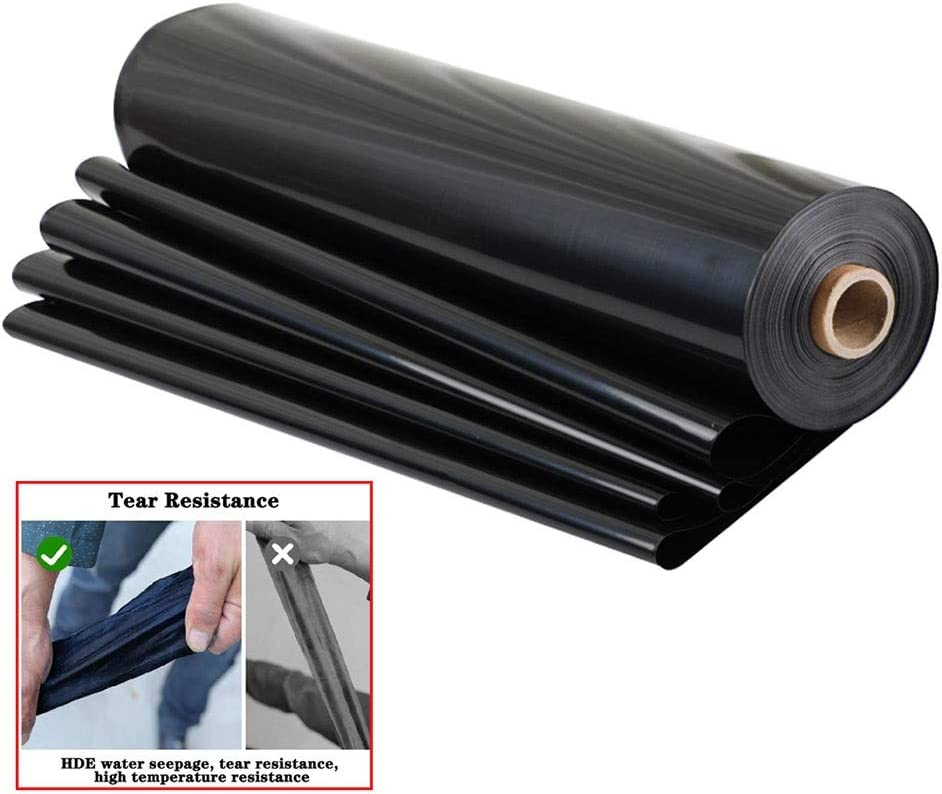 Singa-Z Pond Liner Tear-Resistant Pond Liner for Outdoor Fish Pond Stream Fountain and Water Garden