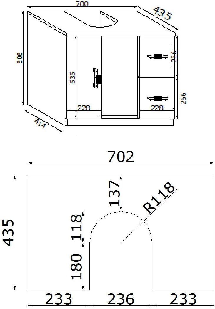 Mobile Copricolonna Lavandino Specchiera In Coordinato 3 Finiture A Scelta Bianco Effetto Lucido Amazon It Casa E Cucina