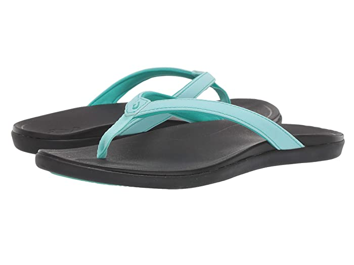 Ho'opio  Shoes (Lagoon/Black) Women's Sandals