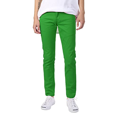 to wear - Skinny Green jeans mens video