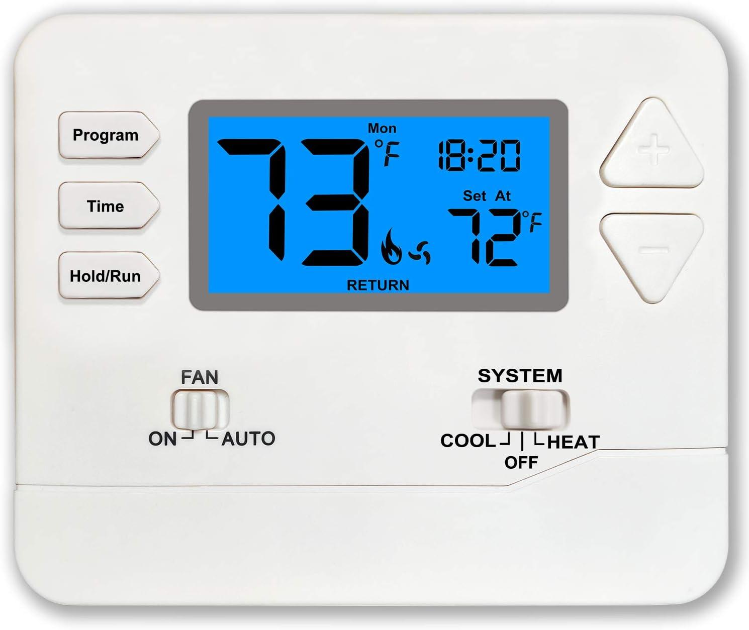 Thermostat Programmable Multi-Stage Cool 2 Heat Sacramento Mall Houston Mall