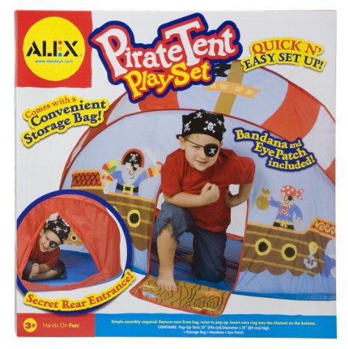 Alex Toys Pirat Pop-Up Zelt Play Set