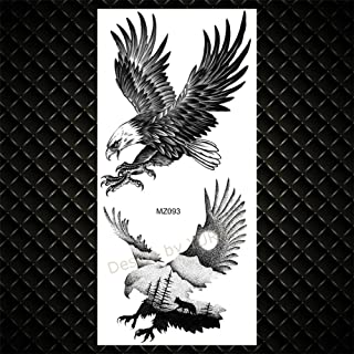 Wolf Aquarel Tijdelijke Tattoo Vrouwen Kids Kinderen Bloem Tattoo Kolibrie Vos Lavendel Realistische Tattoo Body Armband-G...