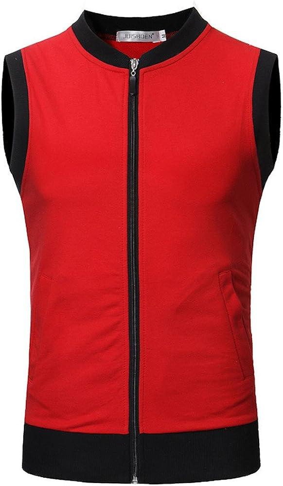 Mens Sleeveless Casual Sports Fashionable Vest T-Shirt