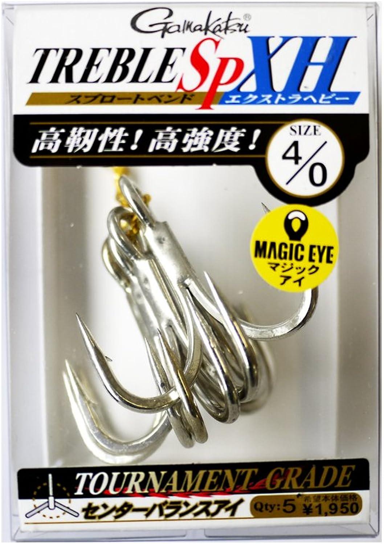 Gamakatsu Treble Hook SP XH Hyper Shield Size 4 0 (6692) 4549018376692