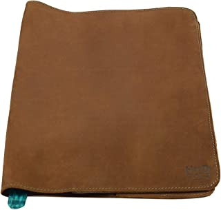 Hide & Drink, Rustic Leather Refillable Journal Cover (Size 8.5 x 11 in.) / Moleskine Cahier XXL Journals w/Típico Strap Handmade :: Swayze Suede