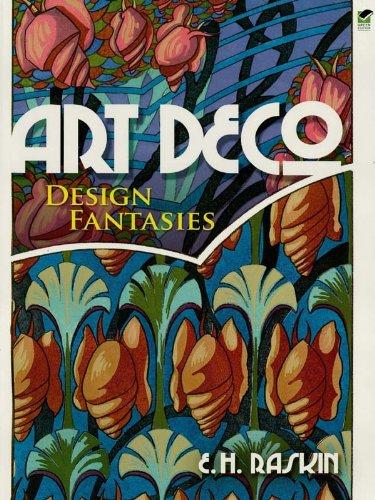 Art Deco Design Fantasies (Dover Pictorial Archive) (English Edition)