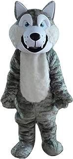 Wolf Adult Mascot Costume Wolf Cartoon Character Costume