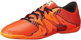 adidas Performance Men's X 15.4 Indoor Soccer Shoe, 13.5 M (US) Orange