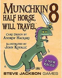 Munchkin 8 Half Horse, Will Travel Card Game